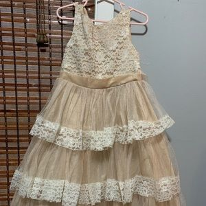 Other - 🧡Girls 4t formal dress🧡 worn once in a wedding